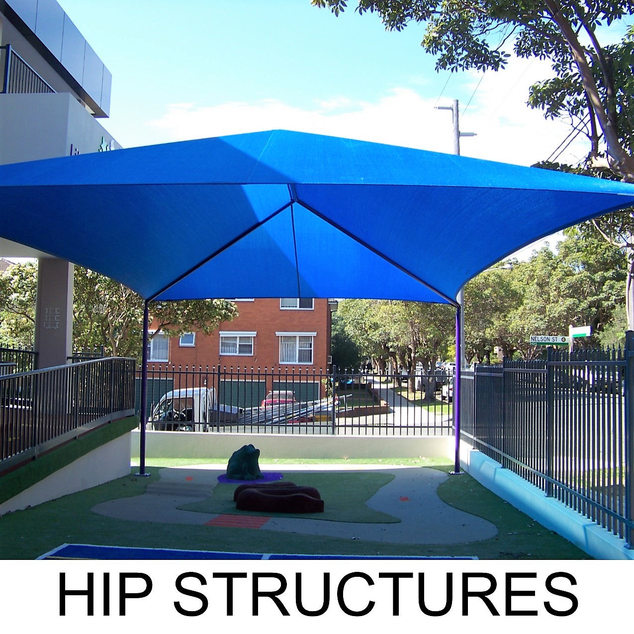 HIP SHADE STRUCTURES