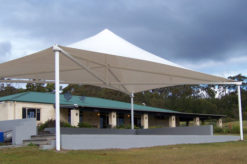 Conic Shade Structures